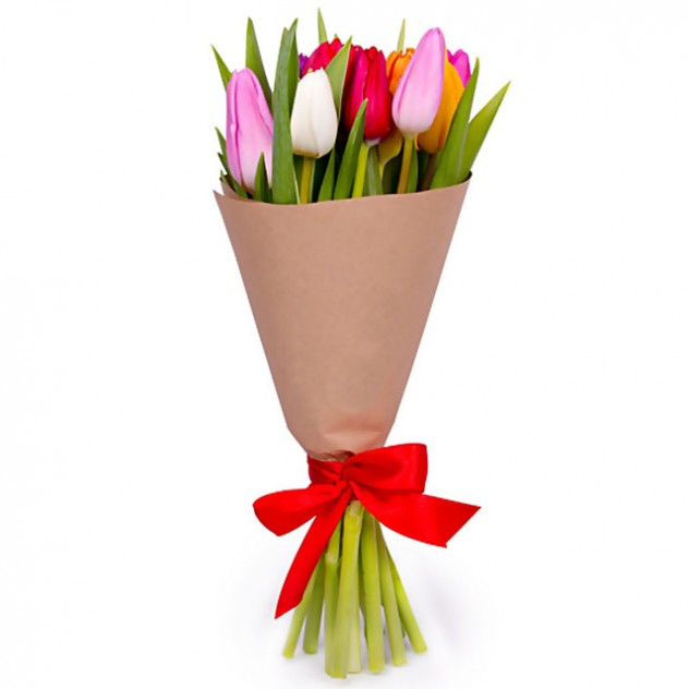 Букет из тюльпанов № 7